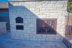 custom fireplace doors-1