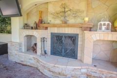 custom fireplace doors-13