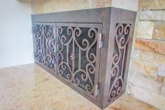 custom fireplace doors-15