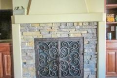 custom fireplace doors-2