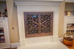 custom fireplace doors-20
