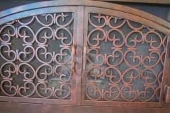 custom fireplace doors-22