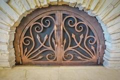 custom fireplace doors-26