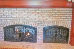 custom fireplace doors-4