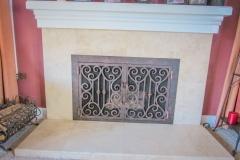 custom fireplace doors-9