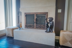custom modern fireplace-1