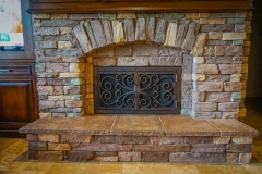 custom modern fireplace-2