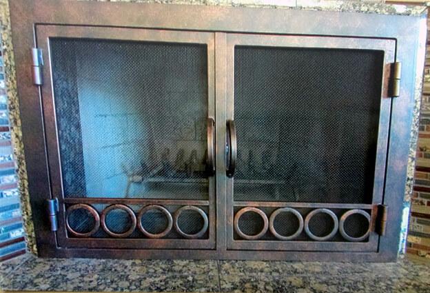 Test New Gallery Fireplace Door Guy