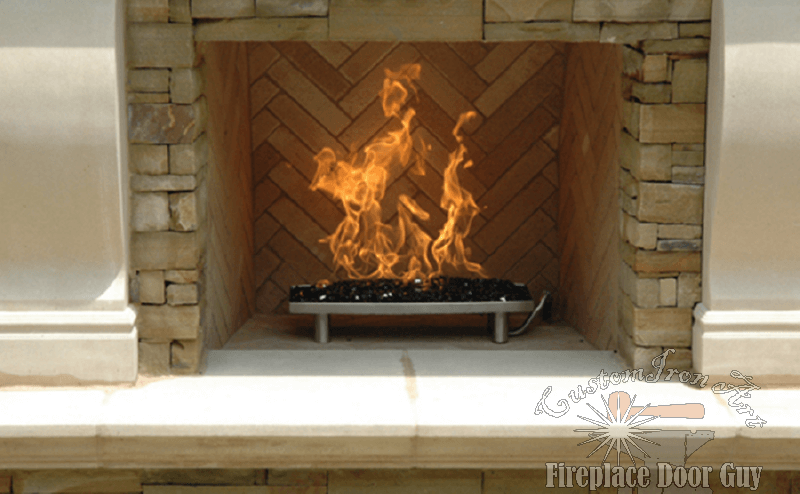 Fire Glass Fireplace Door Guy