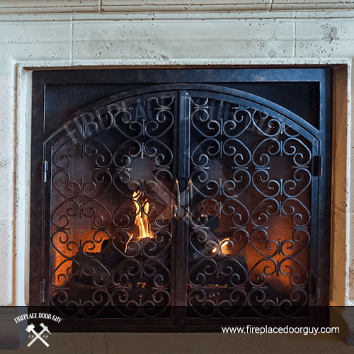 Arched Fireplace In Roseburg, OR