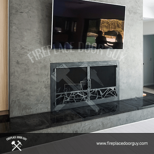 Modern Fireplace In Bend, OR