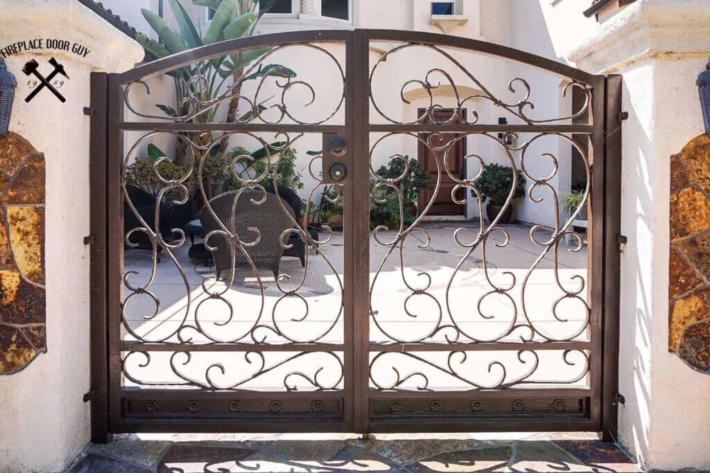 Gate Image Gallery Fireplace Door Guy