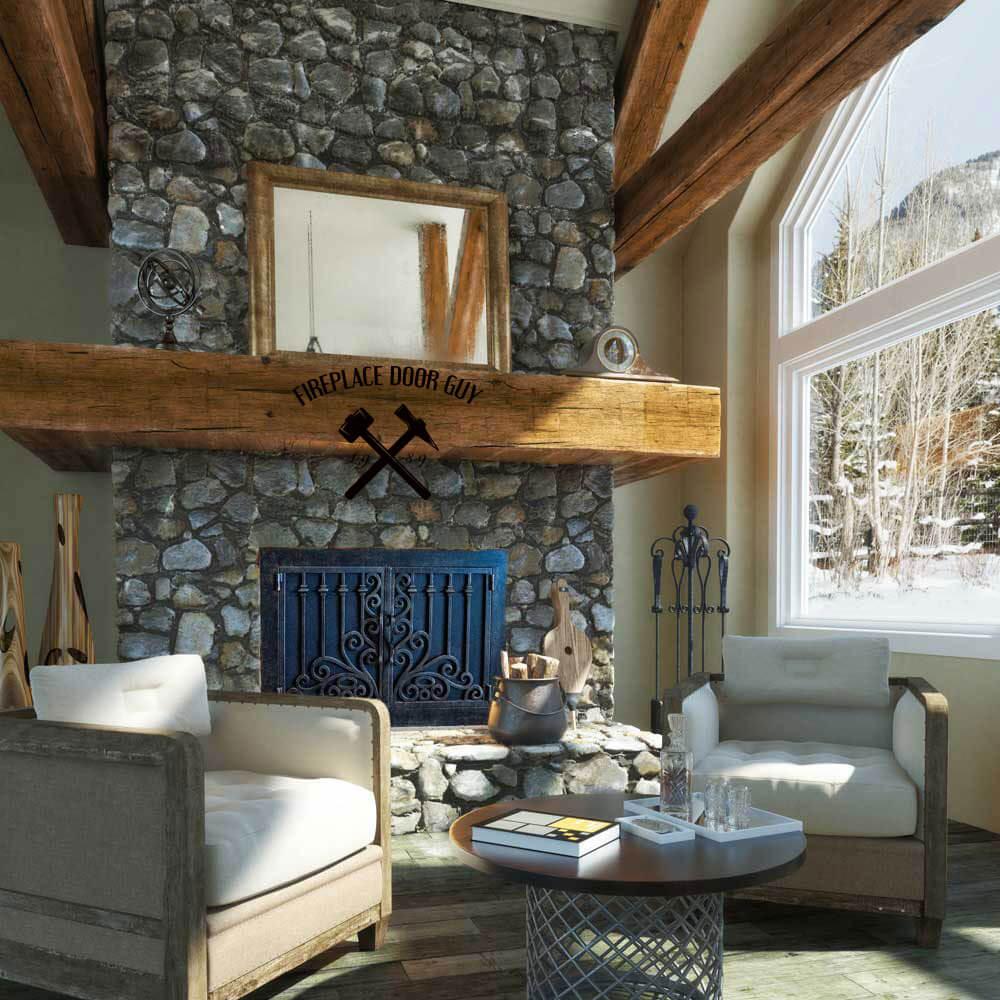 Interior Designers: Custom Fireplace Doors as a Statement of Your Interior Design