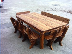 Reclaimed Wood Is A Great Way To Recycle, Preserve, And Have A Positive  Environmental Impact. At The Same Time, You Get A Beautiful Piece Of  Furniture That ...